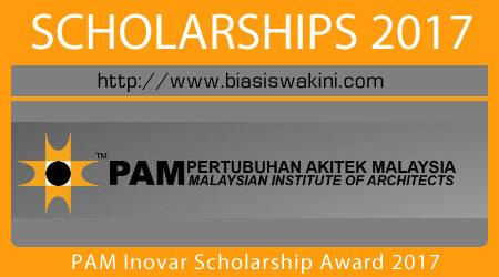 PAM Inovar Scholarship Award 2017