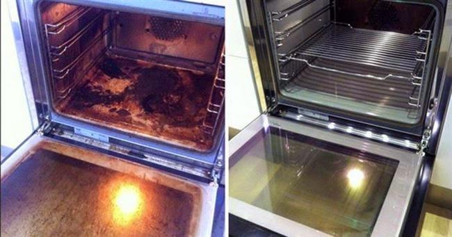 Truco para limpiar el horno