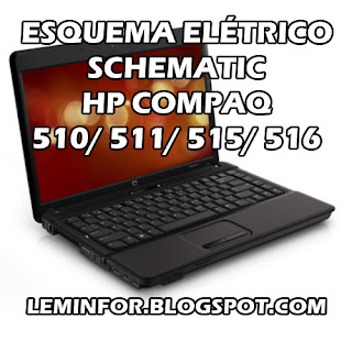 Esquema Elétrico Notebook HP COMPAQ 510 511 515 516 Service Manual schematic Diagram Notebook HP COMPAQ 510 511 515 516 Esquema Eléctrico Notebook HP COMPAQ 510 511 515 516 Manual de servicio