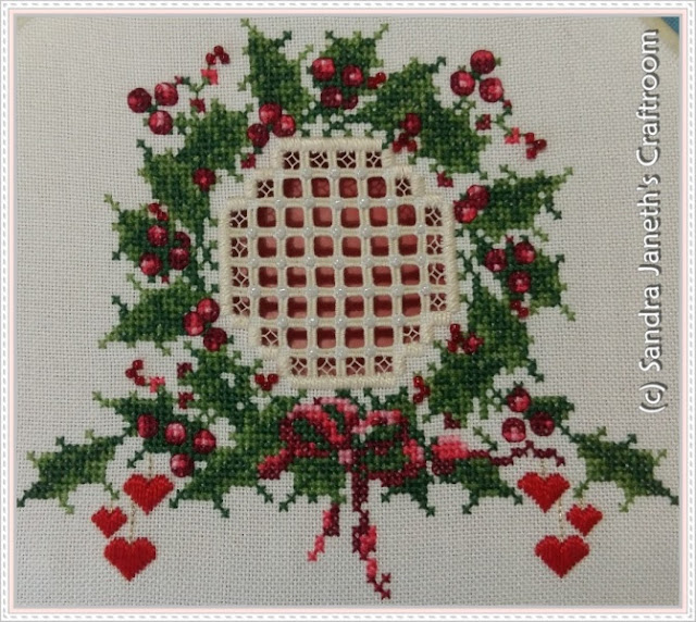 CNP - Warm Christmas Wishes, Navidad, Bordado a Mano