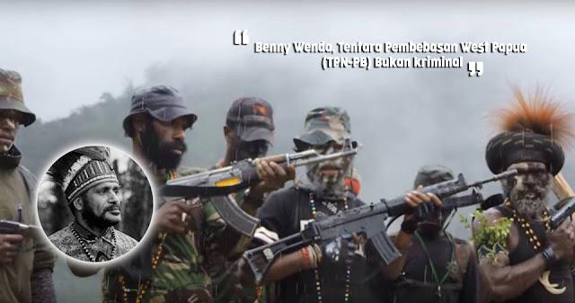 Benny Wenda Mengatakan, Tentara Pembebasan West Papua Bukan Kriminal