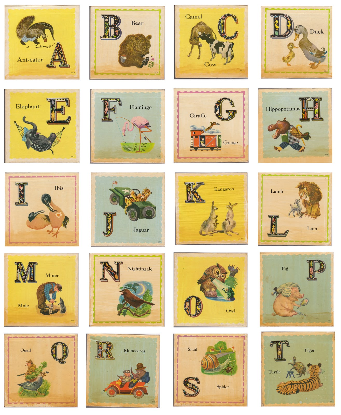 Alphabet Alphabet Letters And Alphabet Cards