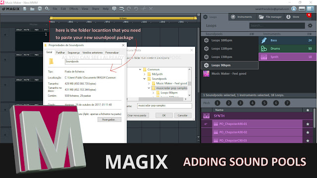 Magix soundpool tutorial screenshot 2