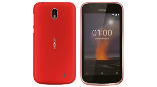 Android Go smartphone launched inwards the Mobile World Congress Nokia 1 Android Go smartphone launched inwards the Mobile World Congress