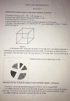 Subiecte simulare matematica - evaluare nationala 2017