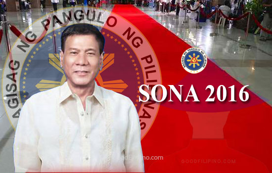 'No red carpet & glamorous gowns and suits' on Duterte's first SONA 2016