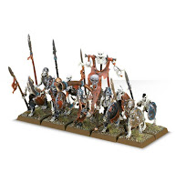 warhammer age of sigmar death skeleton warriors unit miniatures