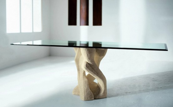 55 Glass Top Dining Tables Original Bases Modern House  : Glass top dining table with original base 48 from modern-house-plans-designs.blogspot.com size 554 x 344 jpeg 25kB