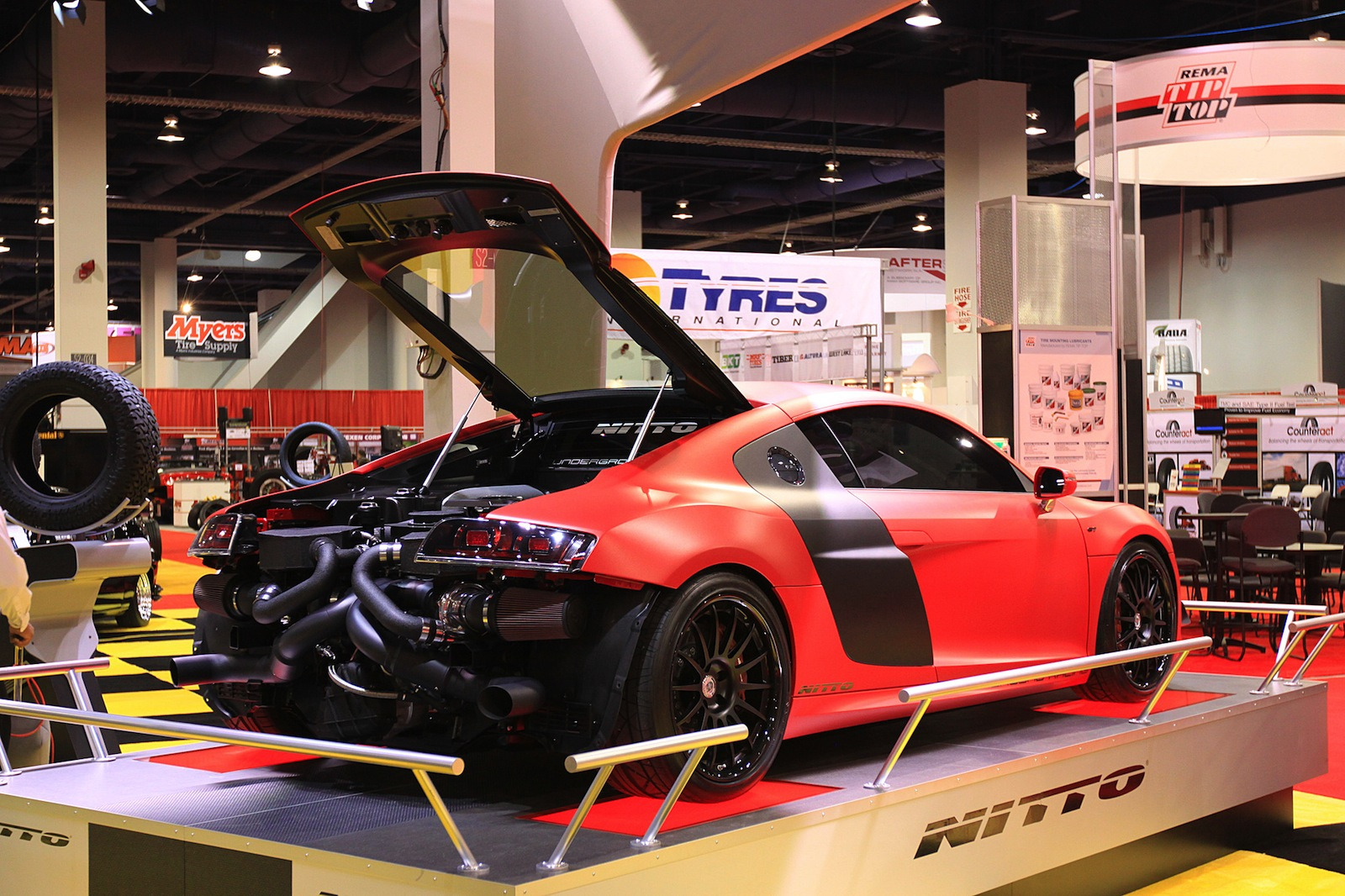 Underground Racing Twin-Turbo Audi R8 GT