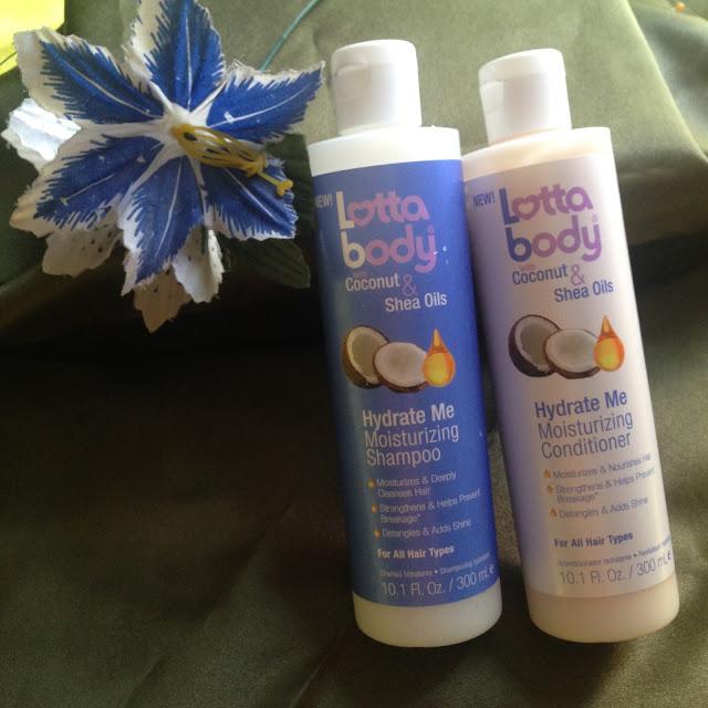 The Lotta body with Coconut & Shea oil Hydrate Me Shampoo & Conditioner