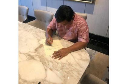 Bocoran Isi Surat Wasiat Prabowo