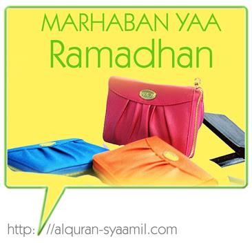 Materi Ceramah: Menyambut Bulan Ramadhan