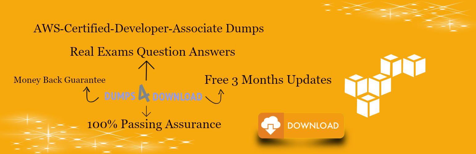 AWS Certified Developer Associate Dumps Questions