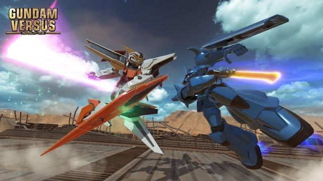 البيتا المفتوحة للعبة Gundam Versus قادمة في أوروبا