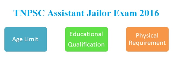 tnpsc assistant jailor maximum age limit, education qualification