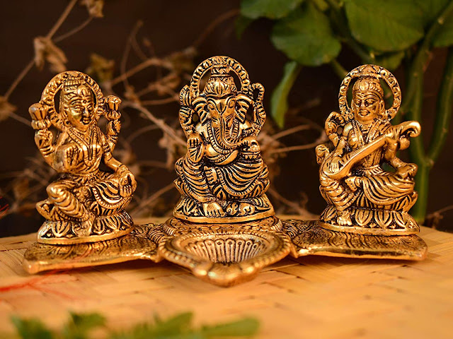 Laxmi Ganesha Idol Gifts For Diwali Laxmi Ganesha Murti Online