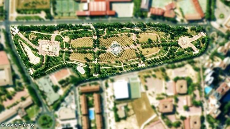 proyecto parque las comunidades alcorcon madrid google maps