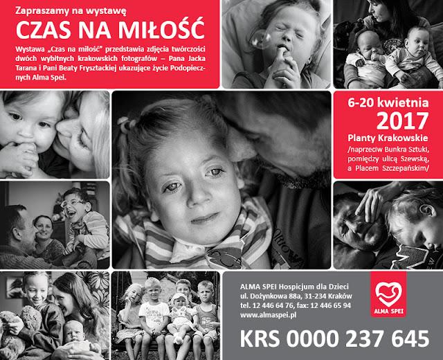 Alma Spei, hospicjum domowe dla dzieci, wystawa zdjec