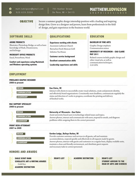 Really Good Resume Examples. Example Of A Good Resume Format Pdf