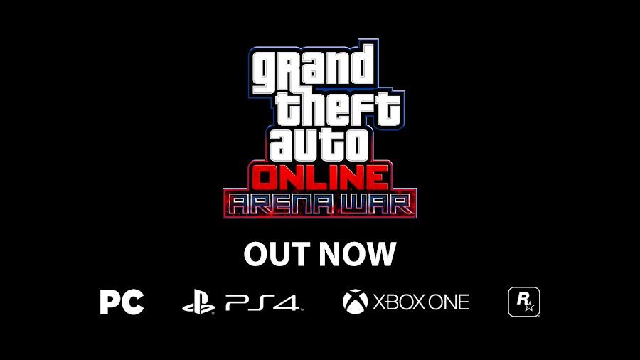 gta online arena war rockstar games