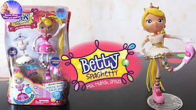 Кукла трансформер Betty Spaghetty