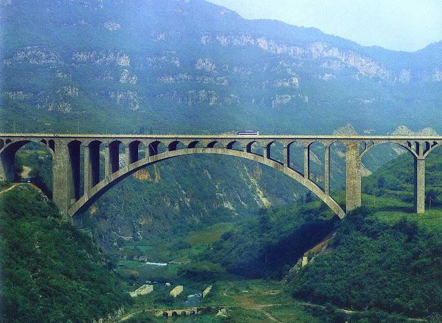 Ponte Danhe - China - Maior ponte de alvenaria de mundo