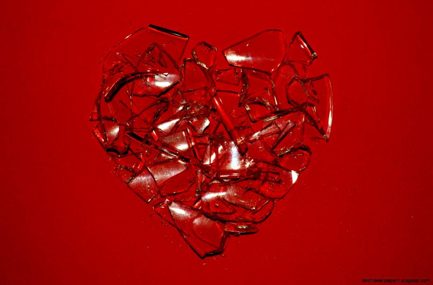 Broken Glass Heart Images