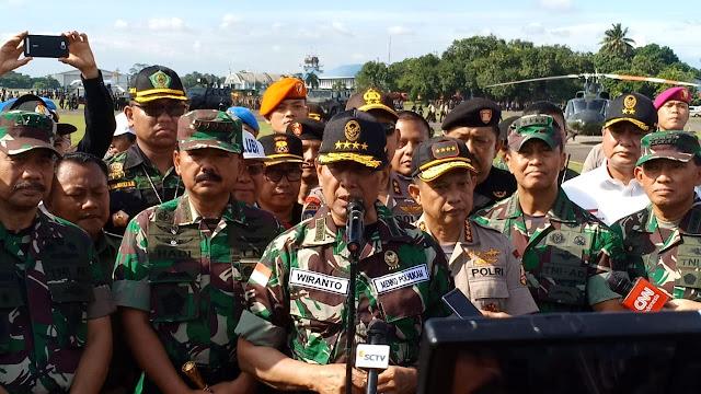 Gelar Pasukan Pengamanan Pemilu, Menko Polhukam Wanti-wanti TNI dan Polri