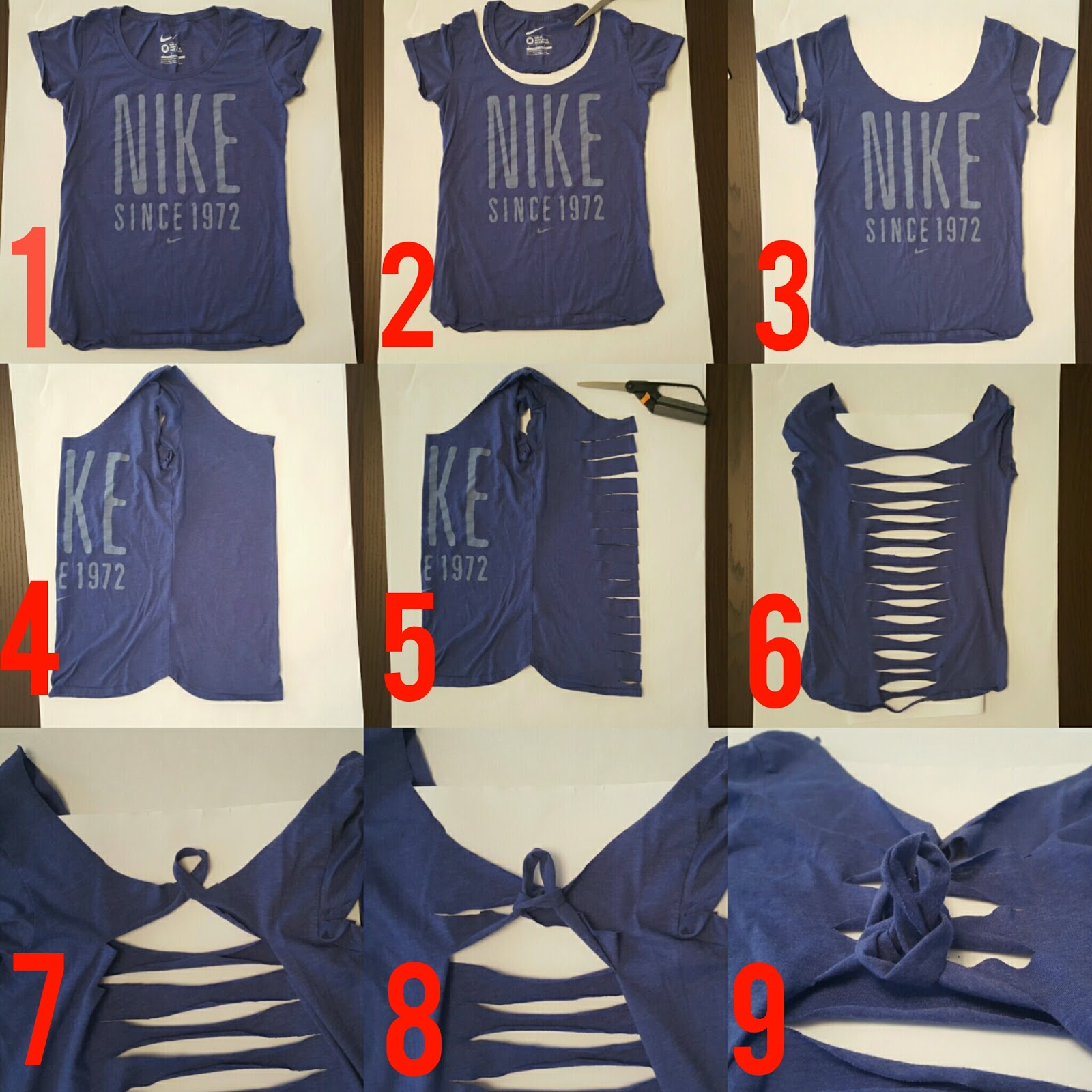 Cut up workout t shirt tutorial so much to make for Cutting up a tee shirt design
