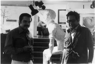 Francesc Anglès y George Segal escultor pop