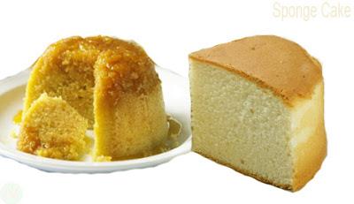 Sponge cake, Sponge cake food
