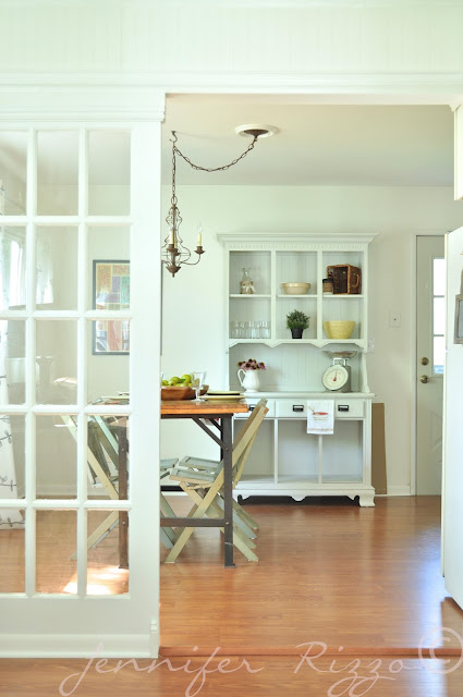 French doors as dividers