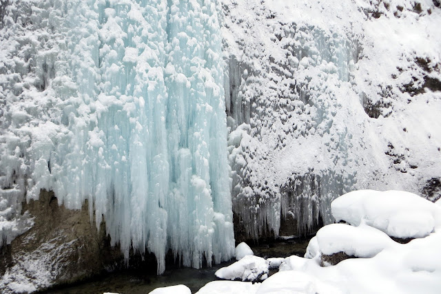 serrai di sottoguda in inverno
