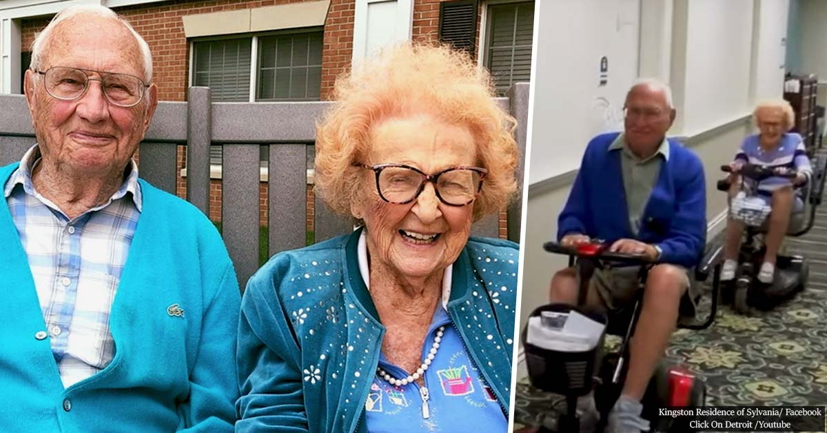 Couple Goals: 102-Year-Old Woman Just Married A 100-Year-Old Man