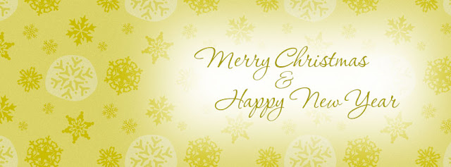 Merry Christmas And Happy New Year Facebook Cover Banner