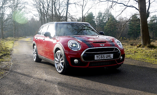 Mini Clubman front view