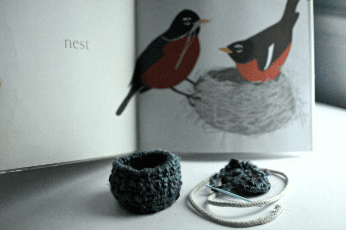 "Coiled Yarn Bowl ""Nest"" Weaving Craft for Kids"