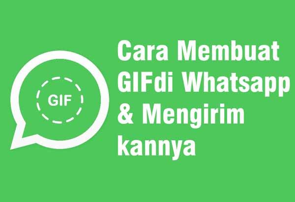 Sebagai aplikasi chatting terpopuler di android Cara Membuat Video Menjadi GIF di Whatsapp