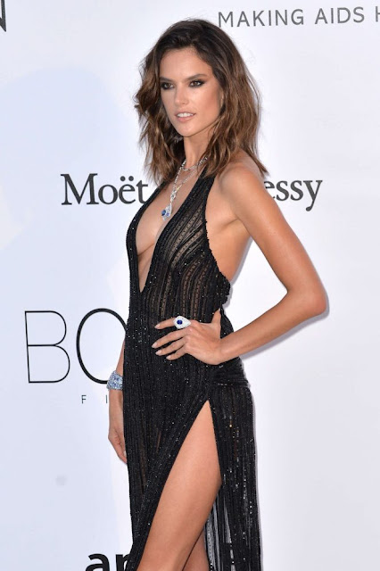 Alessandra Ambrosio – amfAR's 24th Cinema Against AIDS Gala in Cannes