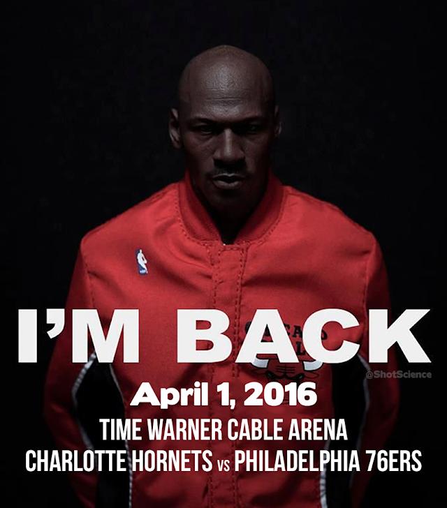 Michael Jordan de regreso a la NBA