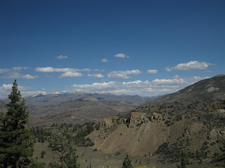 View from California Highway 108 east of the Sonora Pass