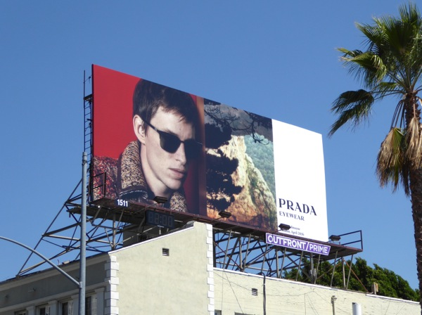Eddie Redmayne Prada Eyewear Fall 2016 billboard