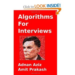 Interviews algorithms pdf for