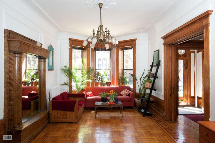 Old world gothic and victorian interior design - Brooklyn apartment interior design ...