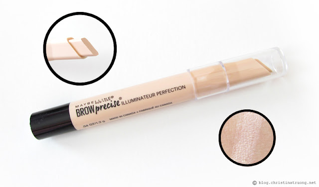 Maybelline Brow Precise Perfecting Hightlighter Review in 300 Light