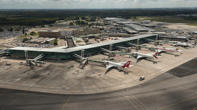 Aeroporto Ezeiza em Buenos Aires