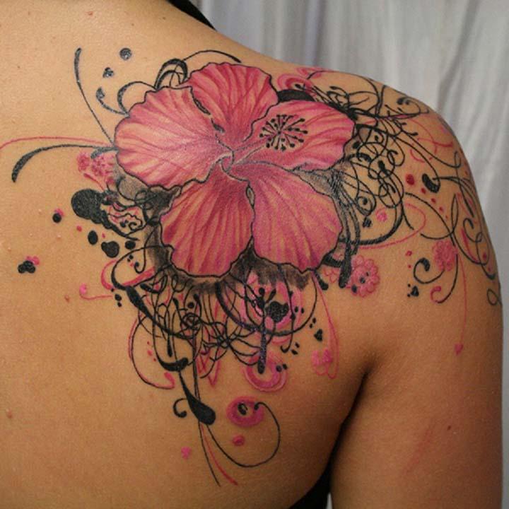 omuz dövme resimleri