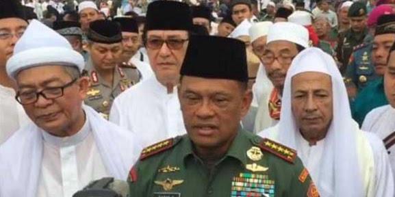 Panglima TNI : Tidak Ada Sejarahnya Ulama Itu Merusak Pancasila