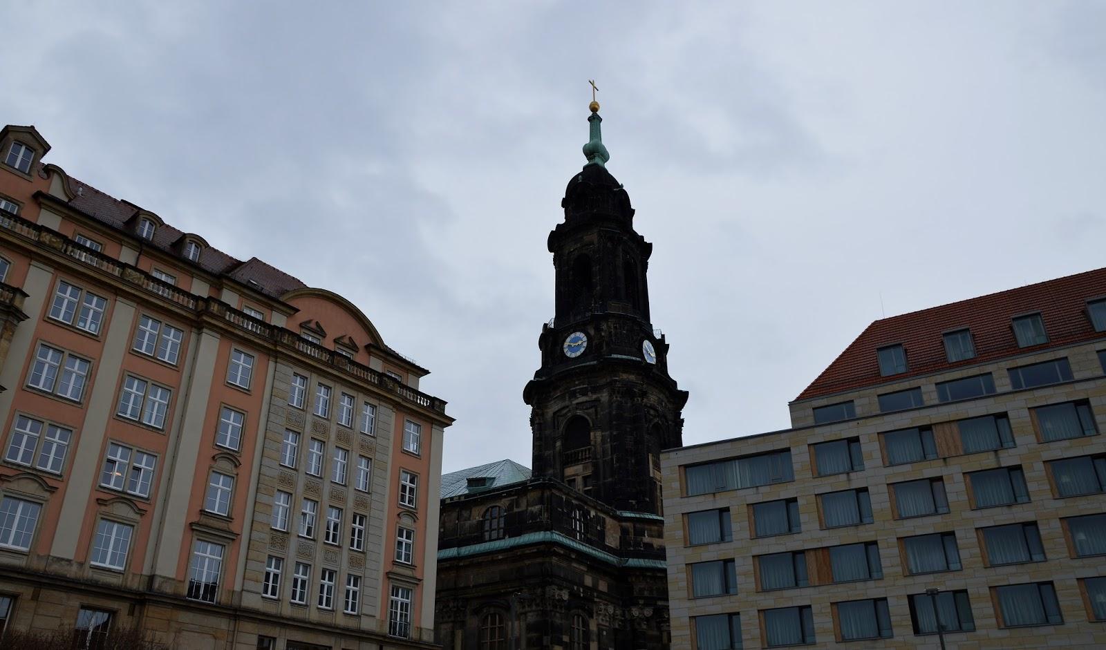 Drezno Kreuzkirche Altmarkt
