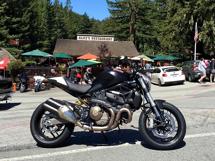 Ducati Monster 821 cafe racer